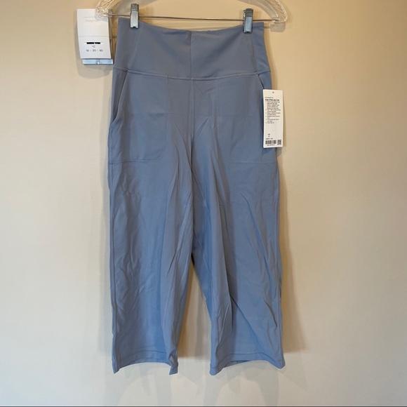 "lululemon Align Wide Leg Crop 23"""